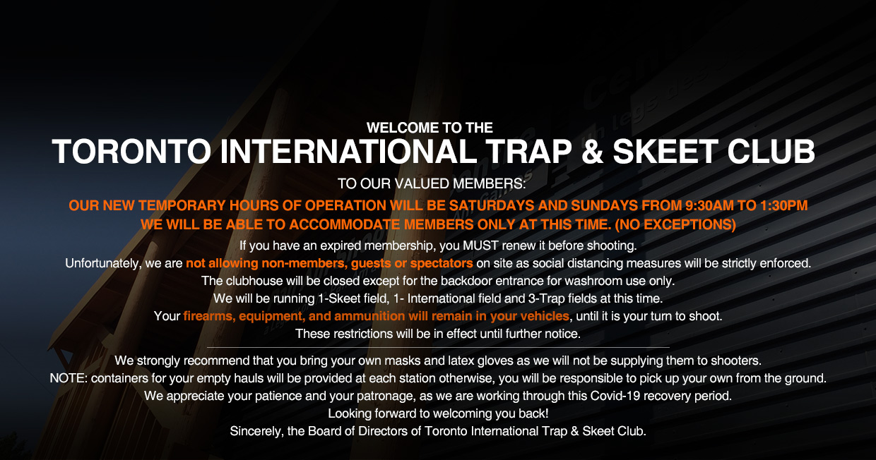 toronto international trap skeet